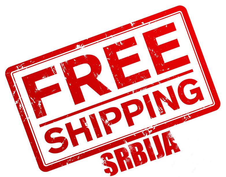 Besplatna poštarina za Srbiju